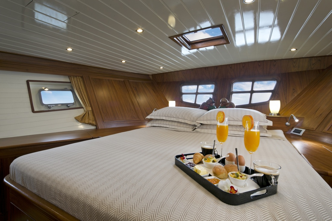 Domicil yacht hotel master double cabin